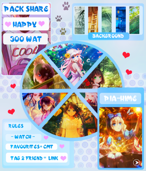 PACK SHARE HAPPY 300 WATCH [ 5-9-2017] by Pia-Hime