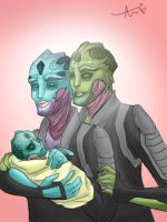 Thane and Syntl by Ayame1014