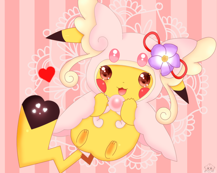 I'm mega Audino by jirachicute28