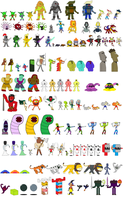List of Enemies by ultracollaterale