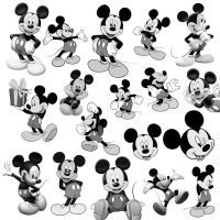 18 Mickey Mouse PS Brushes by Anavrin2010