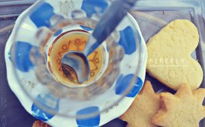tea and cookies. by firefly05