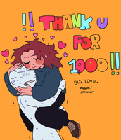 1000!!!!!! by guthorror