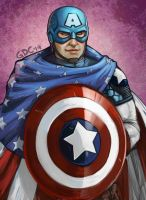 Captain America by Giando1611990
