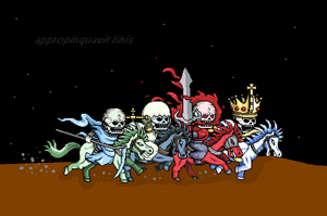 the four horsemen of apocalyps by toywizdood01