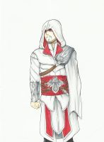 Ezio Auditore by TheFresco