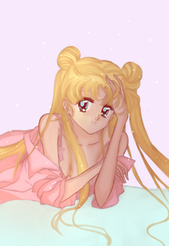 Sailor moon | Coloreado by Haanakko