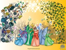 Earth Day: The Recycling Spell by andreshanti
