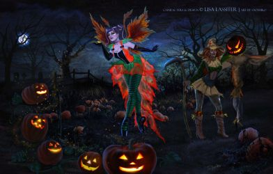 An Enchanting Halloween 2014 by XullraeZauviir