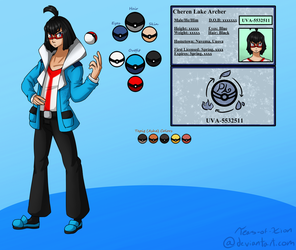 Wanderer - B-W Fan Manga Character Reference by Tears-of-Xion