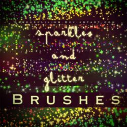 Sparkles and Glitter Brushes by ObscureLilium