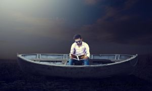 Boat Photo Manipulation Copyrited by Roshan3312