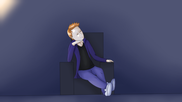 Just the art for my new stream intro by JoordyPol