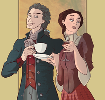 Cool Kids, Thomas And Martha Jefferson by Tom-the-S