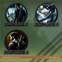 Just Cause 4 icons by BrokenNoah