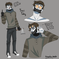 Ticci Toby Character Ref. by ImaginativeChocolate