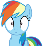Rainbow Dash Hypnotized by Uponia
