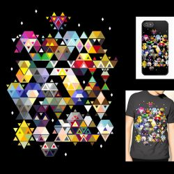 Majora's Mask Threadless Submission! by folderol