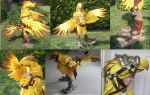 Final Fantasy XIV Chocobo Cosplay