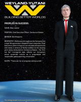 Weyland Yutani Corporate Profile - Silas Lasher by STLegends