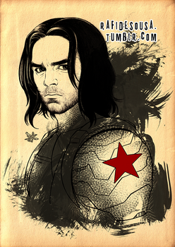 Winter Soldier by rafidesousa