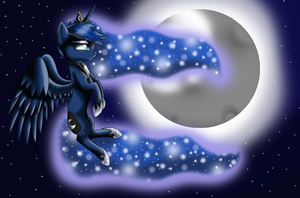 MLP: Luna the Night Princess by imjusthere123