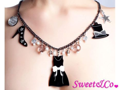 LBD X SweetnCo Charms Necklace by SweetandCo