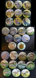 Buttons 1/2 by RonTheWolf