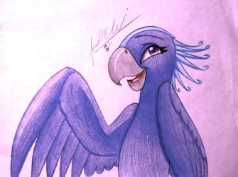 Clyra The Macaw by TwinTailsInc