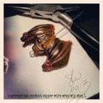 Tigerseye Bat Pendant Wrap WIP 1 by bassgeisha