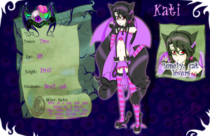HM: Kati the Devil Cat by Torikii