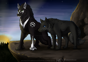At The Break Of Dawn  ::collab:: by starmoon2000