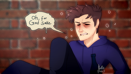 Eddsworld: Tom after being kicked out of the bar 3 by HuckleFred