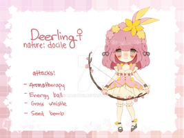 pokemagica adopt | Deerling | closed by Hacuubii