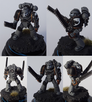 Carcharodons Tactical Marine  by TheEternalRanger