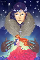 Winter Prince and Spring Princess by kala-k