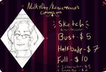 Updated Commissions {gif} by Requiempeaux