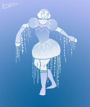 Jellyfish girl by emilybunnysoft