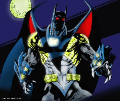 Knightfall Batman by GatlingInks