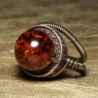 Steampunk Jewelry Ring V by CatherinetteRings