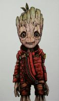 Toddler Groot by ChainsawTeddybear
