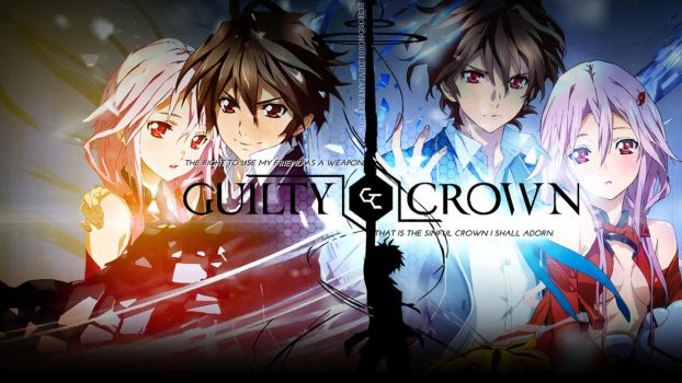 Guilty Crown Wallpaper (1366x768) by echosong001