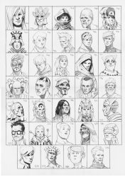Heads 477-510 by one-thousand-heads