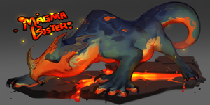 Creature Auction: Magma Buster by kub-e