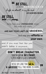 Be Still by The Killers by Ms-Chutkus