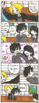 Classroom Flirtation by the-ass-ship