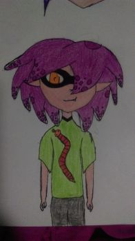 New Inkling OC by mermaidmeow