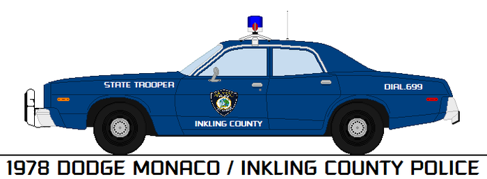 1978 Dodge Monaco   Inkling County Police by SnowKing2017