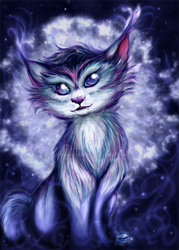 The Indigo Lynx by pookaheart