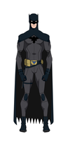Dick Grayson Batman Remake/Titans Design by BobbenKatzen